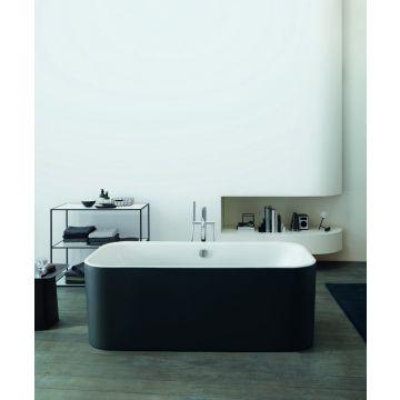 Duravit Happy D.2 bad vrijstaand 180x80 cm met badpanelen, wit