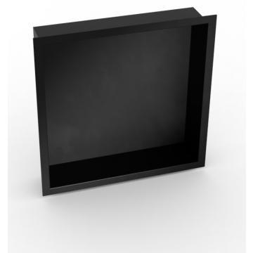 Sub Serie 160 inbouwnis 30 x 30 x 7 cm, zwart