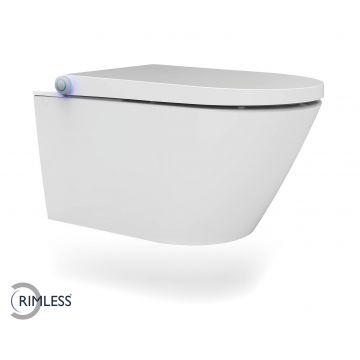 Wiesbaden Vesta Comfort Rimless hangend toilet, wit