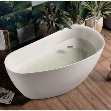 Sub 201 vrijstaand bad ovaal 170x78 cm, mat wit