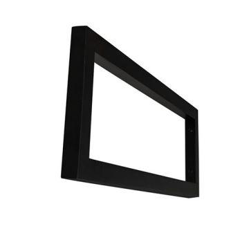 Wiesbaden Modul support beugel 40 x 14 cm voor wastagel, mat zwart