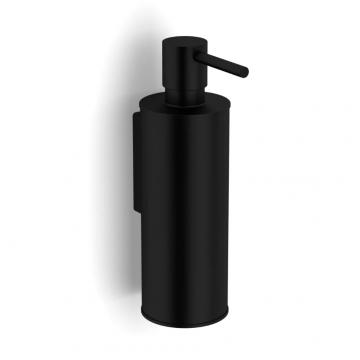 Sub 1582 zeepdispenser 18 x 6 x 10 cm, mat zwart