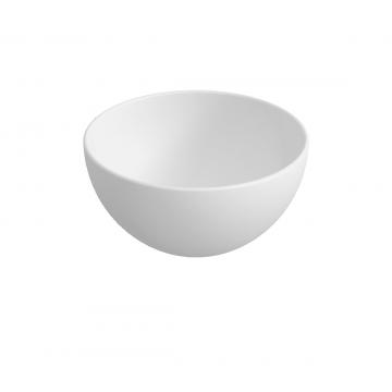Sub 065 opzetfontein rond 24 cm, mat wit