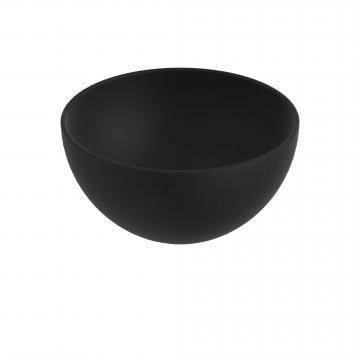 Sub 065 opzetfontein rond 24 cm, mat zwart
