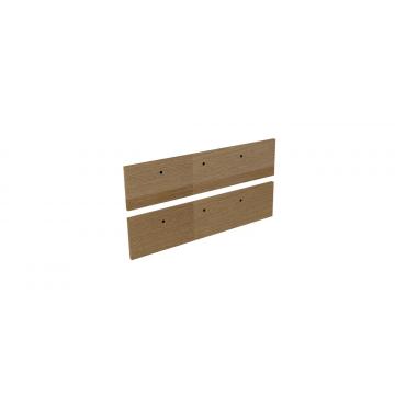 Sub 16 frontenset voor grepen 100 x 26 cm, hout eiken