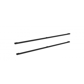 Sub 16 grepen set vierkant 2 stuks voor onderkast 120 cm, mat zwart