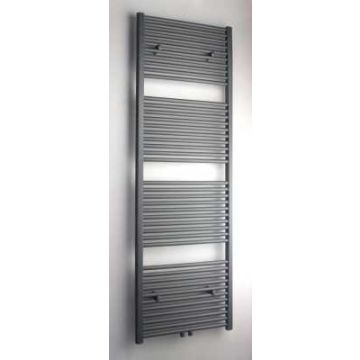 Sub 034 radiator met middenaansluiting 844 W 50 x 180 cm, grijs metallic