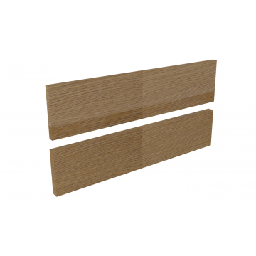Sub 16 frontenset zonder greep 120 x 22 cm, hout eiken