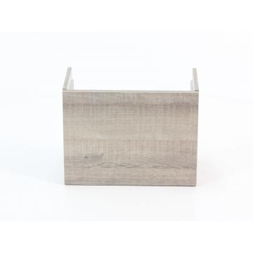 Sub 64 fonteinonderkast links 40 cm, grijs eiken