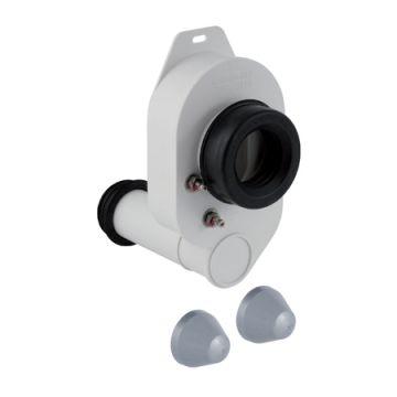 Geberit urinoirsifon horizontaal, uitlaat onderzijde, uitwendige buisdiameter afvoer 40 mm, wit