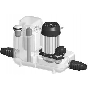 SANIBROYEUR SANICOM® 1 Expert-line vuilwaterpomp 750 W, grijs