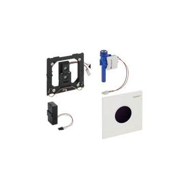 Geberit Sigma01 urinoirspoelsturing infrarood batterijvoeding, alpine wit