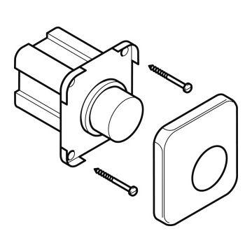 Geberit pneumatische drukker inbouw compleet
