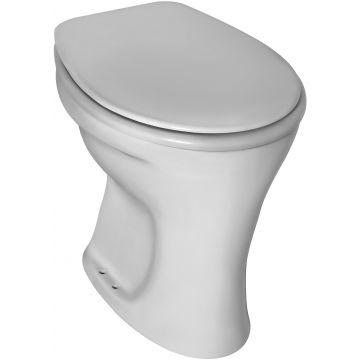 Ideal standard Eurovit staand toilet vlakspoel AO, wit