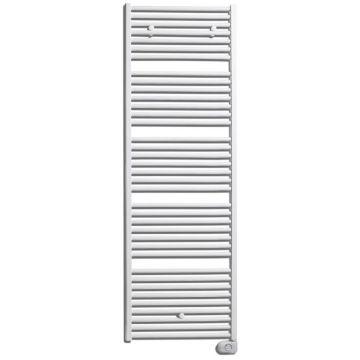 Vasco Bathline bb-el radiator electrisch 500x1274 n26 750w wit ral 9016, wit ral 9016