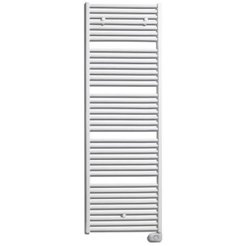Vasco Bathline bb-el electrische radiator 500x878 n18 500w wit ral 9016, wit ral 9016