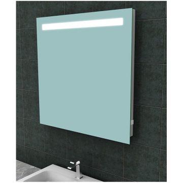 Tigris spiegel met LED verlichting & stopcontact 80 x 80 cm
