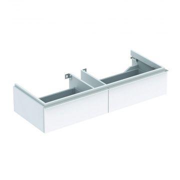 Geberit iCon wastafelonderkast 2 laden 119 cm, glans wit