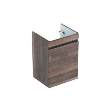 Geberit Renova plan fonteinonderkast met deur 41,4 cm deur, eiken