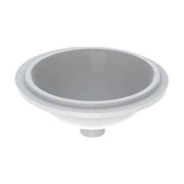 Geberit VariForm onderbouwwastafel rond 39 cm zonder overloop, wit