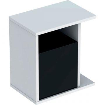 Geberit iCon zijelement met opbergbox 37 cm, mat wit