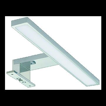 Wavedesign Lucia spiegellamp 150cm 20 watt met trafo mat chroom, mat chroom