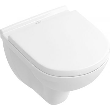Villeroy & boch O.novo wandcloset compact directflush m/sc+qr zitting wit, wit