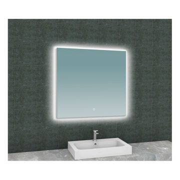 Sub Soul spiegel met LED verlichting 80 x 80 cm