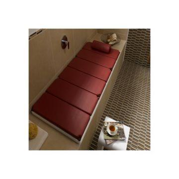 Kaldewei relax ligstoel 190x90cm karmijnrood