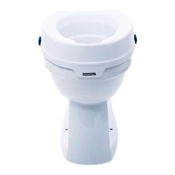 Invacare Aquatec 90 toiletverhoger zonder deksel, wit 800001
