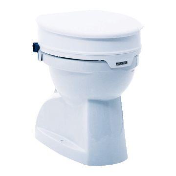 Aquatec 90 toiletverhoger m. deksel wit 801001
