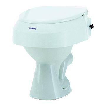 Invacare Aquatec 900 toiletverhoger zonder armleuningen wit 1012910