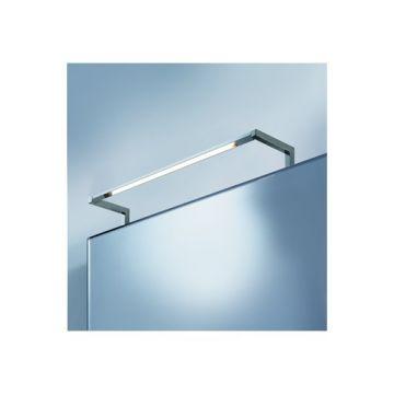 Raminex Stella spiegellamp m. LED verlichting rechthoekig kantelbaar 10W chroom