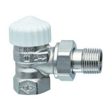 """IMI Heimeier V-exact II thermostatisch ventiel instelbaar haaks 3/8"""""""