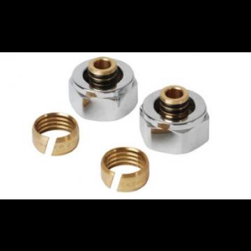 Plieger adapter voor onderblok M24x16x2mm prijs= per stuk chroom