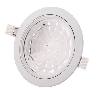Interlight LED downlight niet dimbaar 170mm-8W IP44 - niet richtbaar wit ILDT8100K3