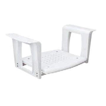 Plieger Comfort Life badzit verstelbaar 65-72cm 38x42cm max. 110kg wit