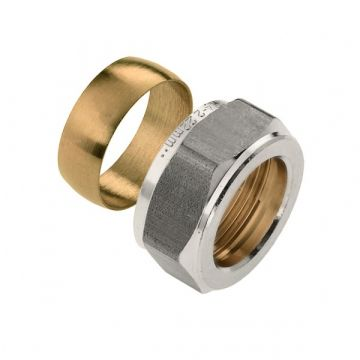 Bonfix Vorstvrijegevelkraan ring & moer t.b.v. vorstbestendige gevelkraan 18mm