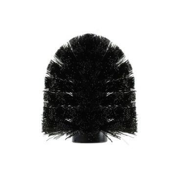 Plieger Vigo closetborstel los mat zwart