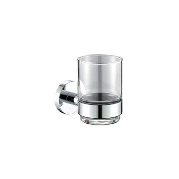 Plieger Vigo bekerhouder met glas, chroom
