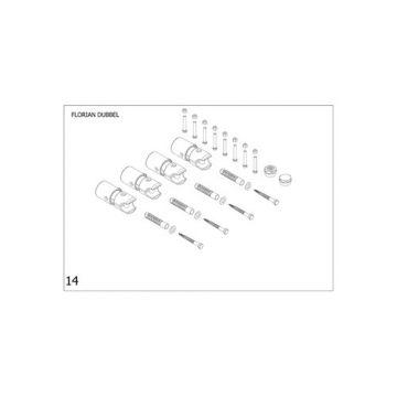 Plieger bevestigingsset designradiator dubbel Florian mat zwart