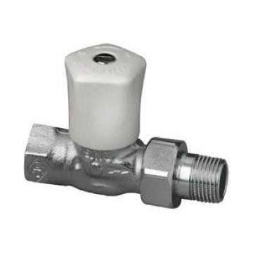 """IMI Heimeier Mikrotherm radiatorafsluiter recht 1"""" Kvs = 6,20 m3/h 012204500"""