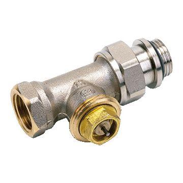 """Comap Sar thermostatische radiatorafsluiter recht 3/8"""" Kvs = 0,85 m3/h"""