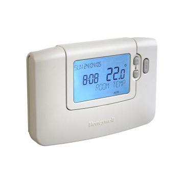 Honeywell Chronotherm klokthermostaat draadloos 24V Wireless t.b.v. uitbreiding of vervanging, wit