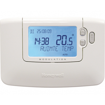 Honeywell Chronotherm klokthermostaat 24V Modulation/OpenTherm wit
