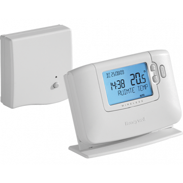 Honeywell Chronotherm klokthermostaat draadloos 24V Modulation/OpenTherm wit