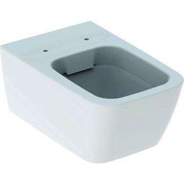 Geberit iCon Square hangend toilet rimfree KeraTect, wit
