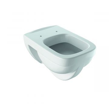 Geberit Renova Plan hangend toilet vlakspoel rimfree KeraTect, wit