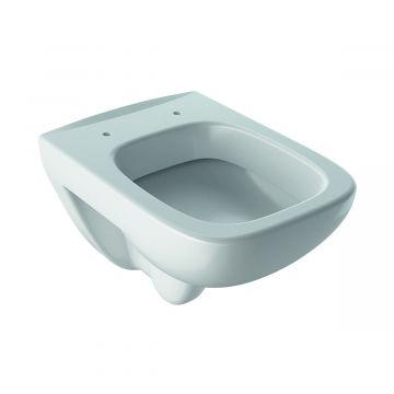 Geberit Renova Compact hangend toilet verkort 48,5 cm KeraTect, wit
