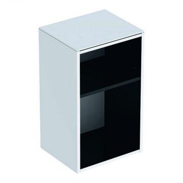 Geberit Smyle Square lage kast open 36 cm, glans wit